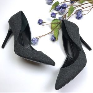 New Charles David Wool Stiletto Heel Classic Pumps